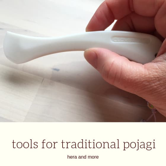 "hera fabric marker with title ""tools for traditional pojagi"""