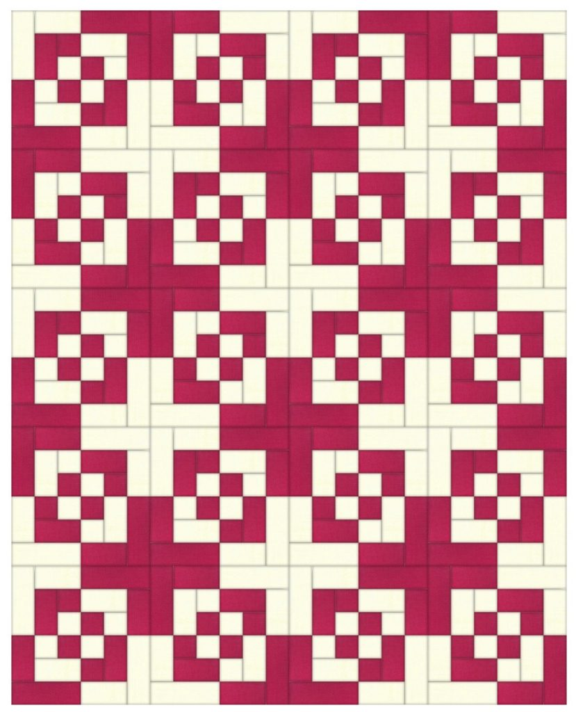 bento box quilt layout
