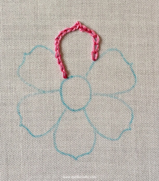 flower petal embroidery tutorial